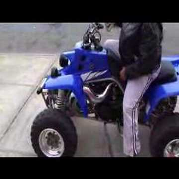 Yamaha Banshee YFZ350 Video