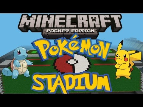Pokémon Stadium - Minecraft Pocket Edition (HD)