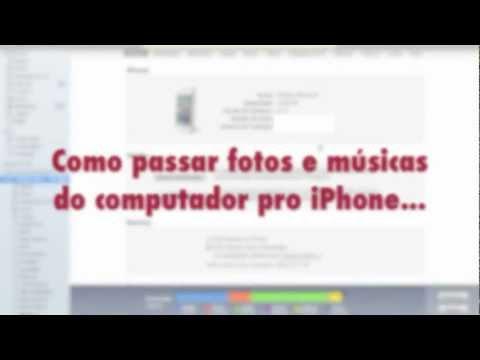 Tutorial Como passar fotos e músicas pro iPhone, iPod Touch e iPad