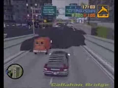 GTA3: Liberty City gets flooded
