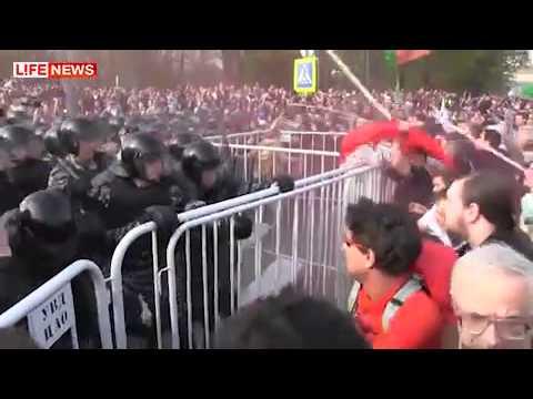 06.05.2012 Марш миллионов. Москва. Беспорядки.