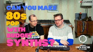 Can you make 80s pop with budget synths? #TSR19