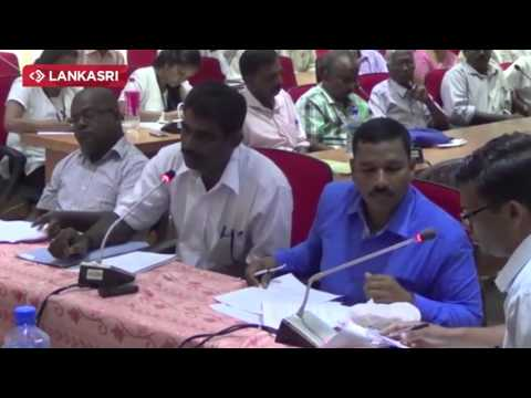 The Feedback Session of Political System Held in Jaffna