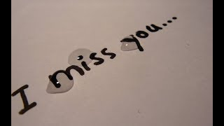 I MISS YOU   Sad whatsapp status video  Love failu