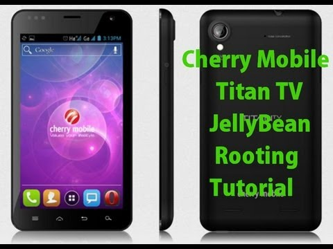 Cherry Mobile Titan TV Rooting Tutorial - JellyBean 4.1.2