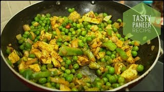 Tasty Paneer and Tamarind Spicy Recipe - Indian Vegetarian Recipe