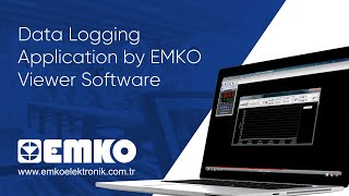 Emko Elektronik Data Logging Application by EMKO Viewer Software