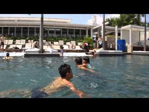 Swimming pool Marina Bay Sands, Singapore