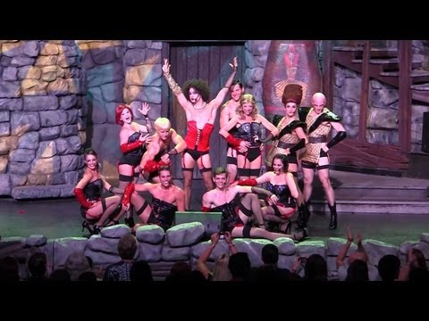 FULL Rocky Horror Picture Show Tribute at Halloween Horror Nights 2013, Universal Orlando