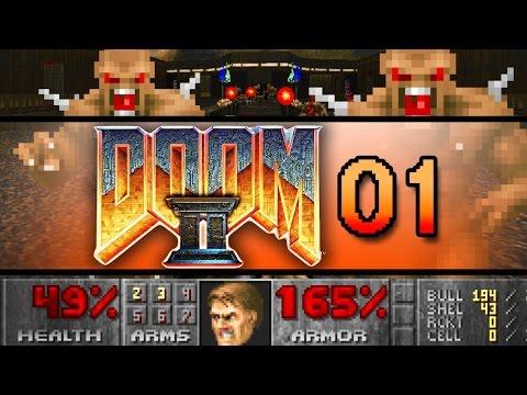 DOOM 2 #01 - Der Metzger ist zurück - Lets Play BFG GER