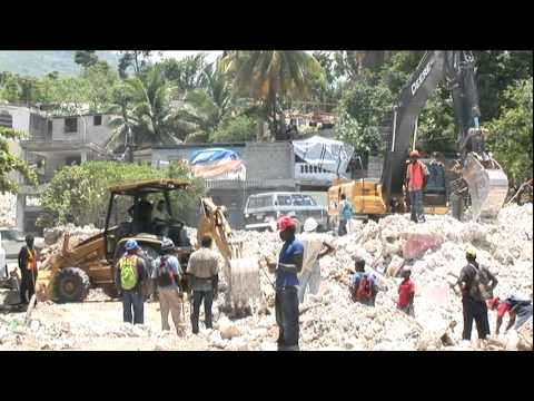HAITI: CLEAN - Removing Earthquake Rubble