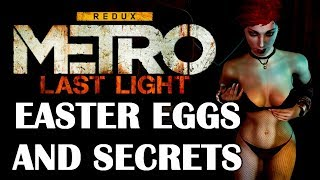 Metro: Last Light All Easter Eggs And Secrets 1080p HD