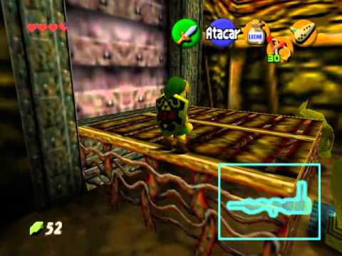 The legend of Zelda:Ocarina of time - Caverna Dodongo (1/2) - espa�ol