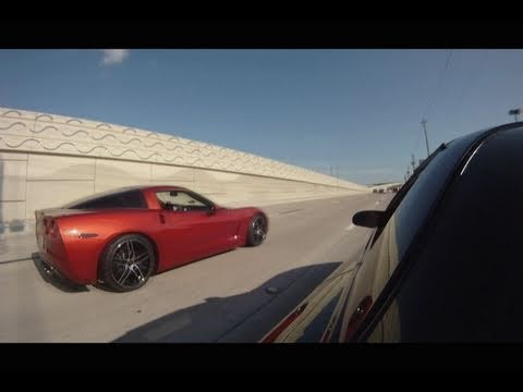 SUPERCHARGED Corvette vs. Hyabusa vs. Trans Am WS6 vs. Camaro SS in MEXICO!!