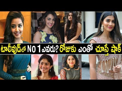 Top 10 Highest Paid Actresses In Tollywood 2018 | Tollywood Top 10 Actress Remunerations