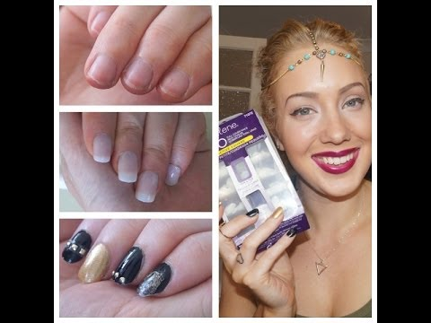 Long Nails INSTANTLY! (UNDER 2mins!) DIY Nail Tutorial.Review & Haul