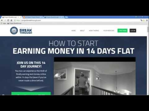 Review of project breakthrough-  true training of how to earn thousands of dollars monthly