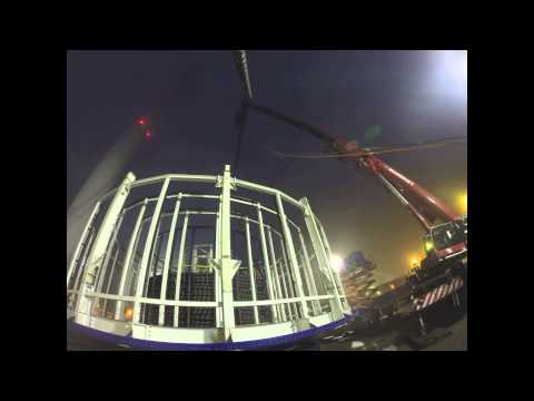 WIND Cable load-out in Eemshaven for Gemini Offshore Wind Farm