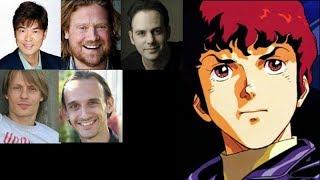 Anime Voice Comparison- Amuro Ray (Mobile Suit Gundam)