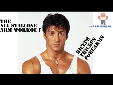 Sylvester Stallone Arm Workout (Russ Howe PTI Guide)