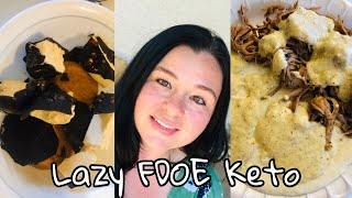 Lazy Keto| What I Eat in a Day| Did I Lose Weight????? Motivation