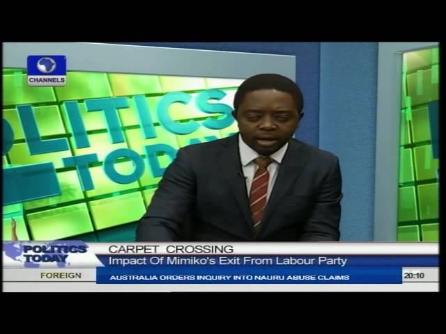 I Respect Mimiko's Defection To The PDP - Nwanywanwu