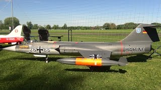 Newest Lockheed F-104 Starfighter RC Scale Turbine Model Jet over 4 Meter long 2017 Switzerland