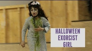Skateboarding Exorcist Girl