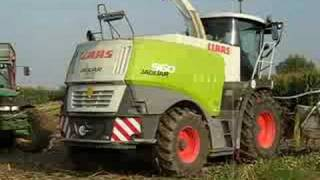 Claas Jaguar 960 Corn Silage in Italy - part 2