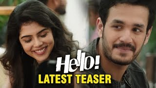 HELLO! Movie LATEST TEASER | Akhil Akkineni | Kalyani Priyadarshan | Nagarjuna | Filmylooks