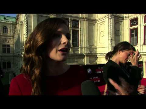 Mission: Impossible: Rogue Nation: Rebecca Ferguson Red Carpet Movie Premiere Interview