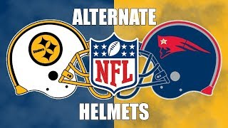 All 32 NFL Teams Alternate Helmet Designs