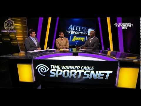 Kobe Bryant Post Game Interview - Lakers vs Warriors