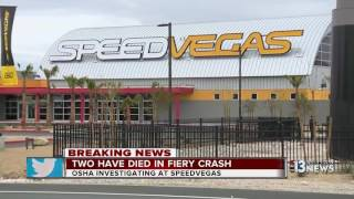 Two dead in fiery crash at SPEEDVEGAS