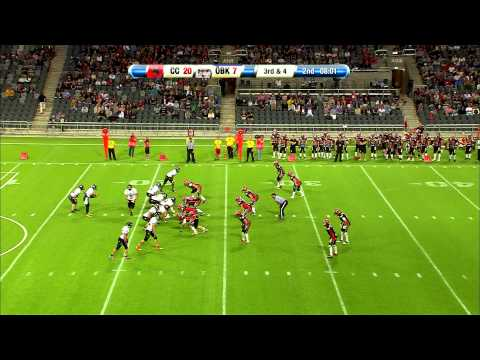 SM Final XXVIII Amerikansk fotboll 2013 Carlstad Crusaders vs Örebro Black Knights