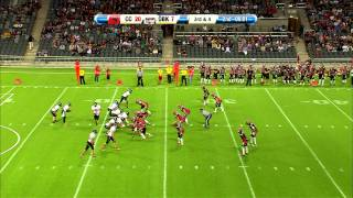 SM Final XXVIII Amerikansk fotboll 2013 Carlstad Crusaders vs Örebro Black Knights