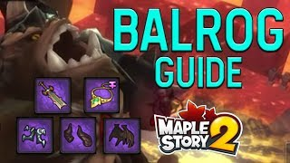 Temple of Immortals [FULL GUIDE!] Tips & Tricks for defeating Balrog - MapleStory 2