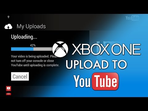 Xbox One - How To Upload Xbox One Videos Directly to YouTube