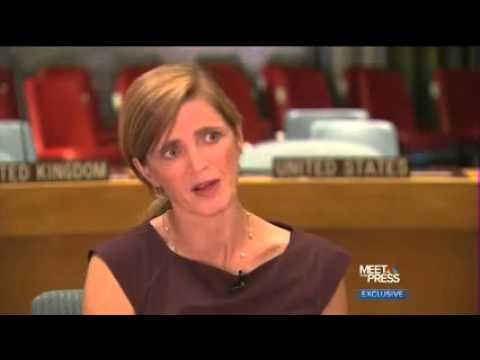 Samantha Power interview on 'Meet the Press'