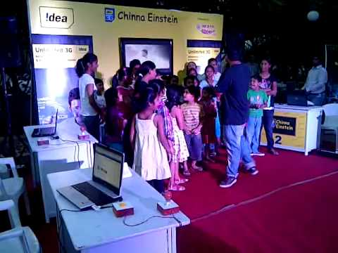 Idea 3G Chinna Einstein Activity Powered by Radio Mirchi, Hyderabad - Video 2
