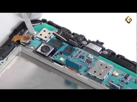 Samsung Galaxy Tab 7.0 Plus P6200 - как разобрать планшет и обзор