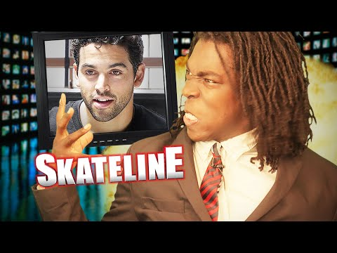 SKATELINE - Paul Rodriguez, Tom Knox, Mikey Taylor, Cody Lockwood 20 Stair Feeble Slam