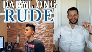 Download Lagu VOCAL COACH reaction to DARYL ONG singing RUDE Gratis STAFABAND