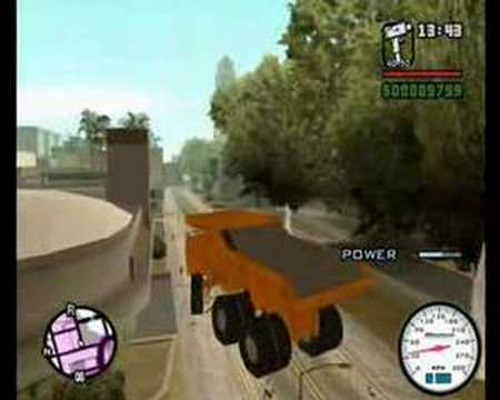 GTA SA: Super CJ and his Super Truck