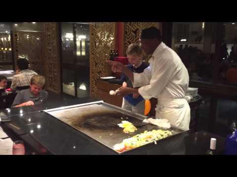 Travers Jamaican Japanese b-day dinner thumbnail
