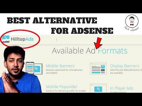 Best Adsense Alternative in 2017   HillTopAds complete Review   Easy Approval in HillTopAds