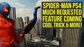 Spider Man PS4 Cool Trick YOU LIKELY DIDN'T KNOW, New Feature Coming & More! (Spiderman PS4 Tricks)