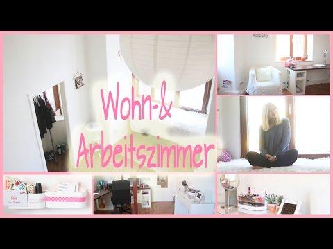 ROOMTOUR I Mein WOHN-& ARBEITSZIMMER I Wohnungswoche#7