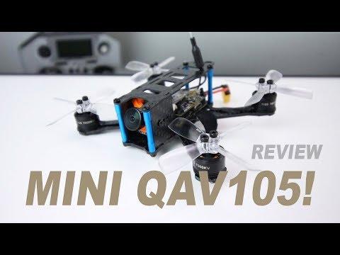 MINI QAV105! - Brushless FPV Racing Drone - FULL REVIEW