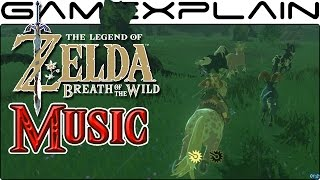 Classic Zelda Theme in Breath of the Wild (Nintendo Switch Gameplay)
